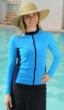 Zip UV Swim Shirt