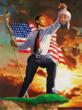 Obama Strikes Heroic Pose In Bin Laden Death
