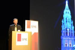 SPIE Photonics Europe and Brussels' Town Hall tower