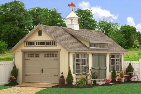 Superieur Garden Shed Kits   Car Garage KitsBuy A Storage Shed Kit Or A Car Garage  Kit From Amish