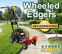 best wheeled edger, best wheeled edgers, top walk behind edger, top walk behind edgers