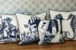 Hand-Screened Pillows by Kevin O'Brien Studio