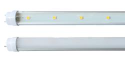 LED T8 Tube Lights with clear and frosted covers
