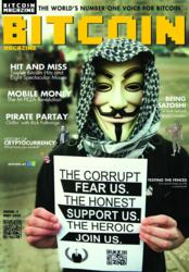 Bitcoin Magazine issue 001 front cover
