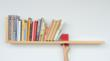 Hold On Tight Book Shelf by Colleen Whiteley of Brooklyn, NY
