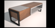 Ryles Storage Bench by David Cox of Houston, Texas
