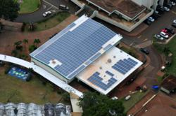 122.675kW roof-top installation at Aeia High School in Honolulu