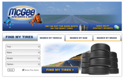 Tire Finder Facebook Application