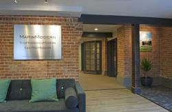Marin modern real estate opens new agent client centric for Modern real estate office design