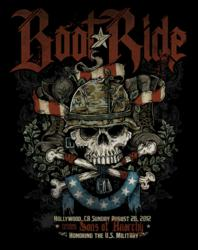 Boot Ride 2012 featuring the Sons of Anarchy Cast