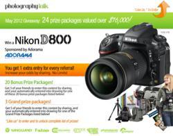 PhotographyTalk Facebook Giveaway