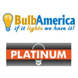 BulbAmerica and Platinum Logos
