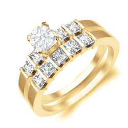1 Carat Citrine Rings collection on JewelOcean.com