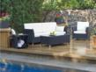 Rattan deep seating