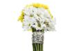Daisies aremom's favorite in bouquets and in a silver cuff bracelet.