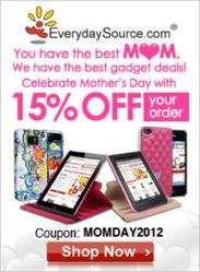EverydaySource Mother's Day 15% Off Promotion