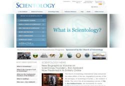 Scientology website, www.Scientology.org, receives Religion Communicators Council (RCC) DeRose-Hinkhouse Memorial Award of Excellence for 2012.