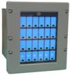 "The new Orbit Instrument 6.5"" Color LCD-Based Entry Panel, is a form-fit-function replacement for the older Plasma-based  Entry Panel used on the UYQ-21(V) U.S. Naval Tactical Display System (NTDS) console. The new LCD entry panel has 24 programmable switches, each with an acknowledgement light, plus a single cue light for the operator."