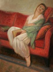 The Sandler Center for the Performing Arts displays oil paintings by Sarah Parks Fine Artist