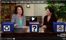 How to Recycle on Mom Ed: Green Living