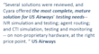 What U.S. Airways Says About Cyara