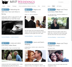MVP Weddings Website