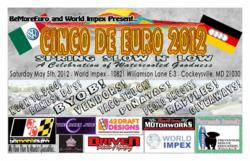 Cinco De Euro event sponspred by BeMorEuro and World Impex will raise funds to support Island Dog, Inc.