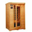 Infrared Sauna FIR 6218 2 Person Sauna with Carbon Fibre Emitter Panel by Boundary Bathrooms