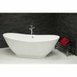 Quinta Slim Liquid Acrylic Freestanding Bath by Boundary Bathrooms
