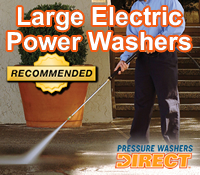 best large electric pressure washer, best large electric power washer, best large electric power washers