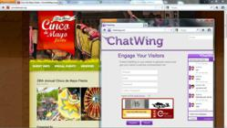 gI 96016 ScreenShot004 paint Cinco de Mayo Nu wordt gesproken over In de Chatwing Website Chat Box