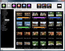 3DComposer screen shot