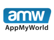 AppMyWorld vertical logo on white background