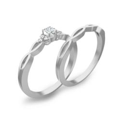 1 Carat Heart Shape Diamond Engagement Ring on JewelOcean.com