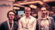Unleaded Group President Jarod Clark, center, at the 2012 Magento Imagine eCommerce conference in Las Vegas with aheadWorks CEO Dmitri Koteshov, Artyom Rabzonov, aheadWorks Co. Partner Channel Developer