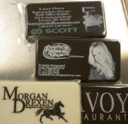 Personalized chocolate business cards