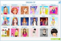 Internet Marketing Services Introduces a Series of Games for Girls to Their New Gaming Website