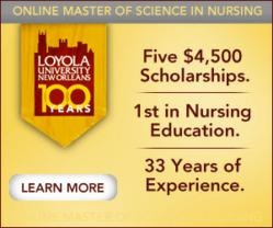 Online MS in Nursing Scholarship at Loyola University New Orleans