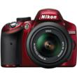 kon D3200 camera Red