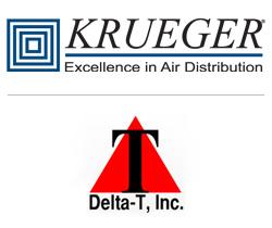 Krueger and Delta-T, Inc. Logos