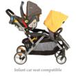 Contours LT Tandem Stroller with car seat