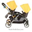 Contours LT Tandem option of both children facing you