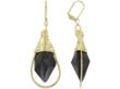 Stephanie Wells' Double Happiness smoky quartz earrings