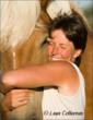 Christina and her horse, Reba