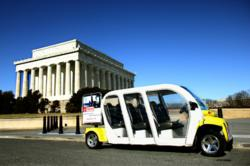 Eco-friendly eCruisers means you don't have to walk miles on Washington, D.C. Urban Adventures