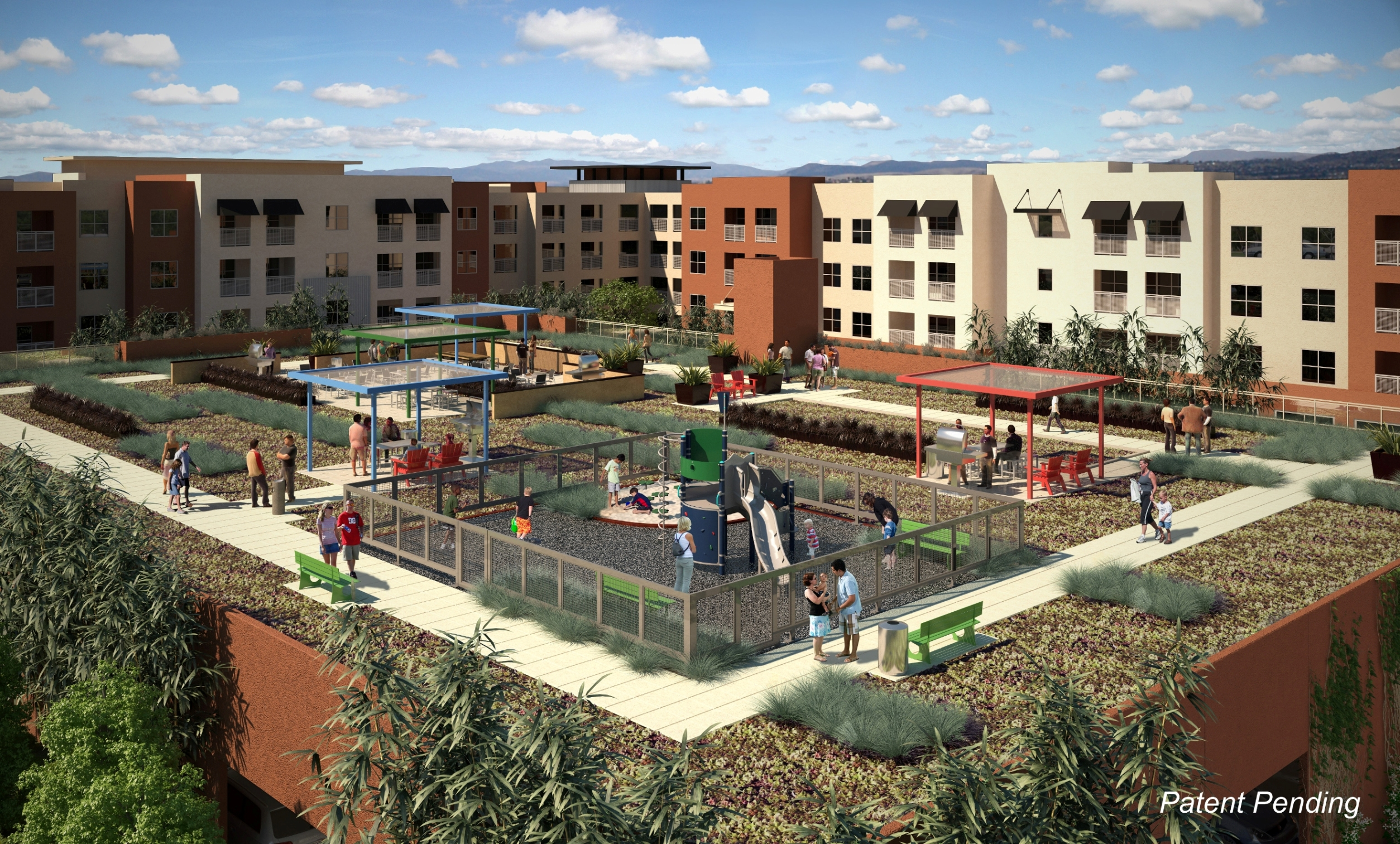 Green Roof Brings Space To Affordable Housing Project