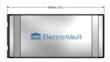 ElectronVault Series 1 - Size 2 module dimensions
