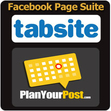 TabSite.com and PlanYourPost.com for Facebook Page Management