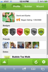Pearhaven, mobile site, mobile website, couples, date ideas, date wizard, date builder