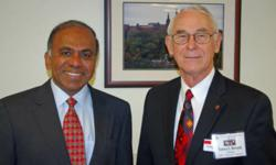 Subra Suresh and Eustace Dereniak photo